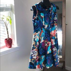 Spense Floral Print Dress, Size 10